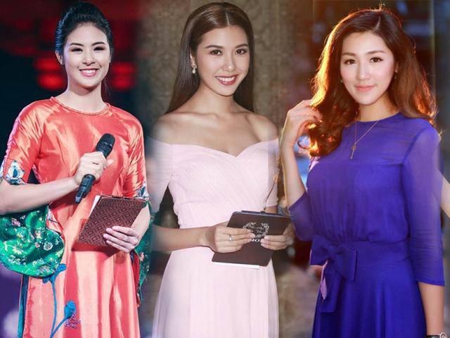 Hoa hậu, Á hậu đảm nhiệm vai trò MC trên sóng VTV là đam mê, là thực tài?
