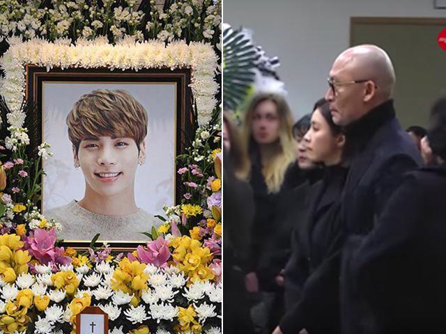 Bạn gái cũ Shin Se Kyung rưng rưng nước mắt ngậm ngùi đến đám tang Jonghyun SHINee