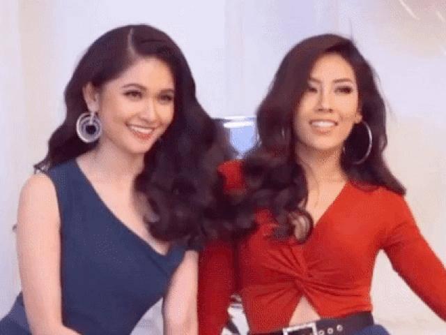 Á hậu Thuỳ Dung và Nguyễn Loan cùng nhau đọ sắc nóng bỏng với loạt váy Giáng sinh