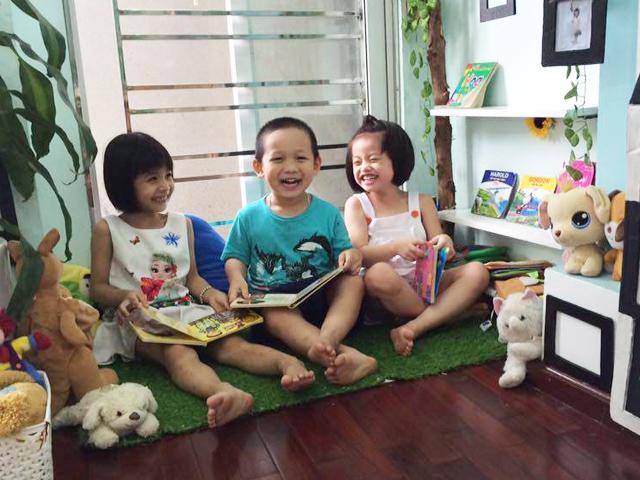Mẹ Hà thành dạy con theo phương pháp Montessori bằng chính các đồ vật trong nhà