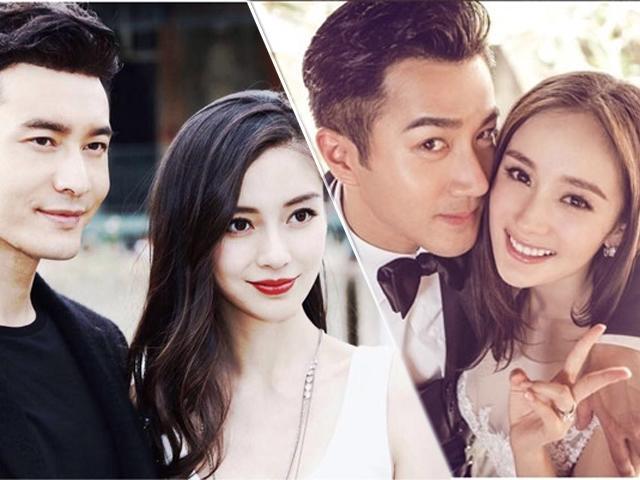 Ngọt ngào, ngôn tình nhưng Huỳnh Hiểu Minh - Angelababy là cặp đôi bị ghét nhất Cbiz