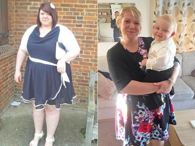 Hành trình giảm cân khốc liệt để được mang thai của bà mẹ nặng 158kg
