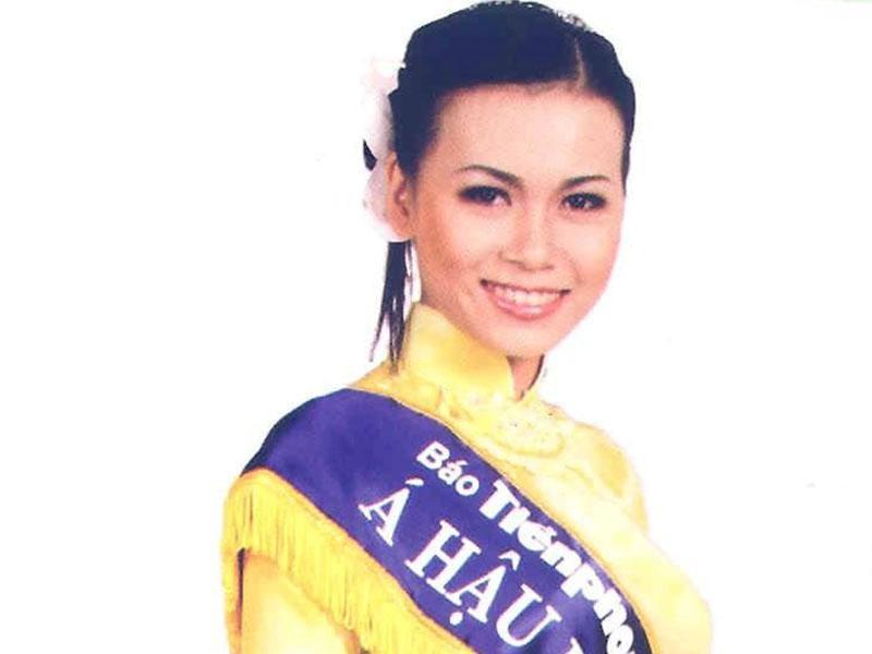 Nhan sắc kiều diễm lúc mới đăng quang của Á hậu 2 HHVN - Nguyễn Thị Ngọc Bích.