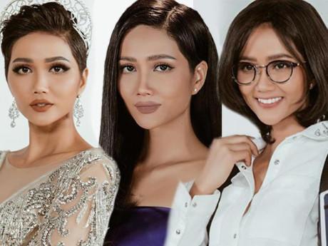 H'Hen Niê hỏi ý người hâm mộ về tóc tai trước thềm Miss Universe và đây là cái kết!