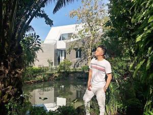 """Tưởng chỉ """"biệt phủ"""" triệu đô, ai ngờ Cao Thái Sơn còn có hẳn nhà vườn 600m² đẹp thế này!"""