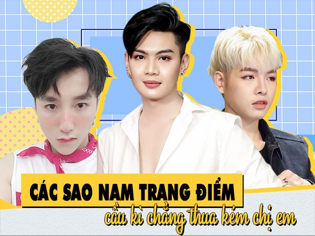 Loạt sao nam Việt chứng minh trang điểm làm đẹp không chỉ là đặc quyền của phụ nữ
