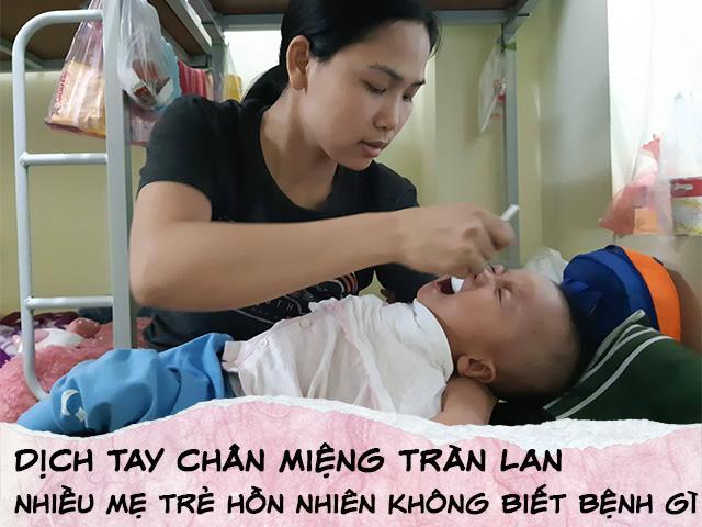 Nghìn trẻ đang đau đớn vì dịch, vẫn có mẹ hồn nhiên hỏi: Bệnh tay chân miệng là gì?