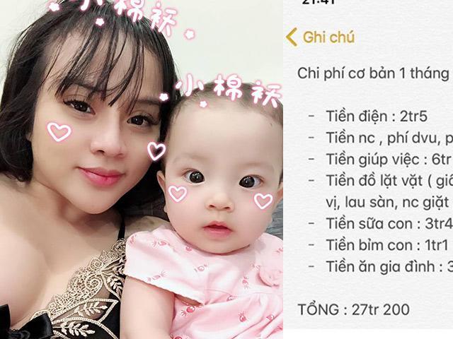 Chi tiêu nuôi con 30 triệu/tháng bị chị em chê hoang, mẹ Hà Nội tiết lộ: Mình kiếm 200 triệu/tháng