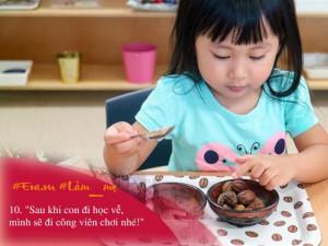 10 câu nói Montessori giúp con ngày nào cũng muốn đi học