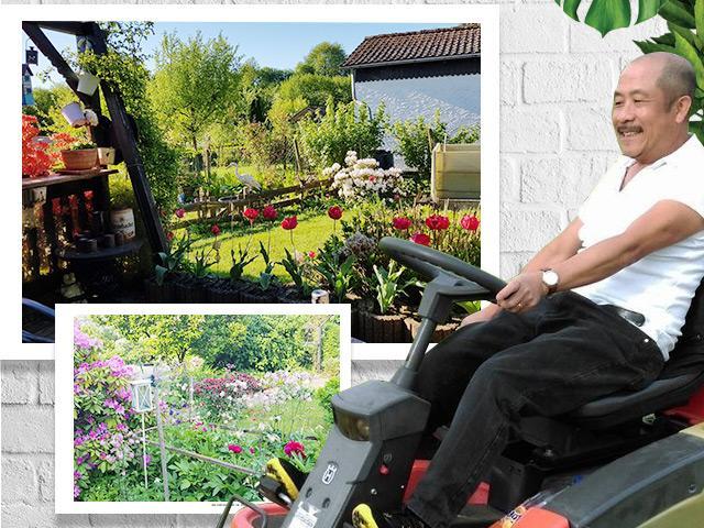 Lạc vào khu vườn 400m² với góc đặc biệt xoa dịu nỗi nhớ quê của ông bố Việt tại Đức