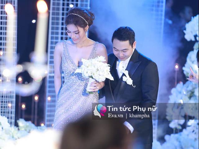 Cô dâu Lan Khuê lộng lẫy xuất hiện bên chú rể John Tuấn Nguyễn