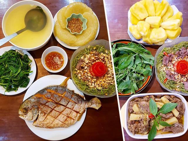 Những bữa cơm chỉ 70 nghìn của 2 vợ chồng trẻ nhưng vẫn đầy ắp món ngon
