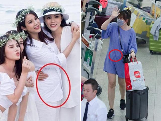 Cứ có 3 dấu hiệu này, các mỹ nhân Việt liền được phong ngay cho dính bầu