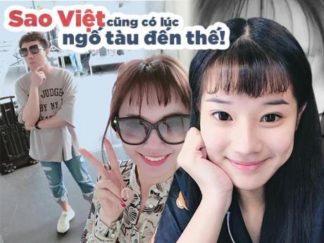 """Sao Việt và những lần """"dở khóc dở cười"""" khi quyết định tự tay xuống tóc"""