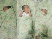 Chỗ đẻ con còn không có, mẹ vẫn sinh 3 bé khỏe mạnh một cách kỳ diệu
