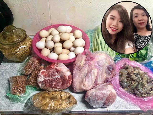 Cô gái Nghệ An 7 năm được mẹ gửi đồ quê, lấy chồng Hà Nội đỡ 400 nghìn/tuần tiền chợ