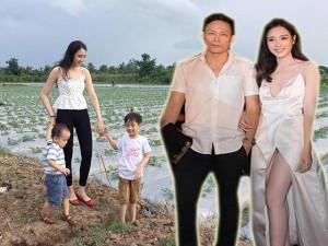 Lấy Ngô Quang Hải, mỹ nhân nổi nhất HHVN 2012 giờ đẻ 2 con, 5 năm ở nhà bán hàng