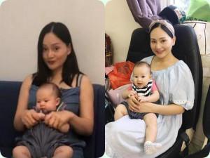 Con gái 4 tháng tuổi, Lan Phương cho tập nhảy nhẹ nhàng khiến ai cũng khen