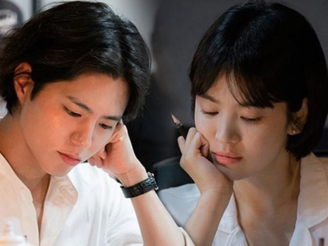 Không thể tin Song Hye Kyo trẻ bất ngờ trong buổi đọc kịch bản cùng người tình Park Bo Gum
