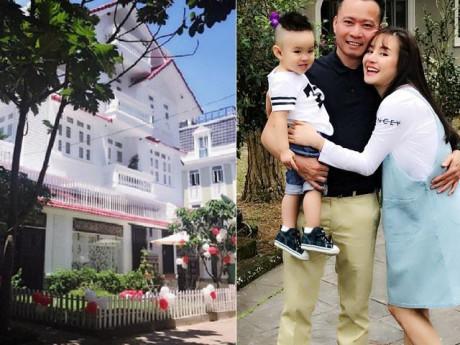 Cuộc sống của Vy Oanh và chồng đại gia trong biệt thự triệu đô ở Sài Gòn