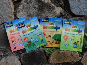 Bố mẹ Việt thích thú với bộ sách giúp thúc đẩy khả năng tư duy khoa học của trẻ
