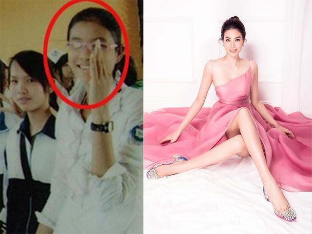 Các Hoa hậu lúc diện đồng phục và khi váy lụa là: Phạm Hương, Nam Em gây bất ngờ nhất!