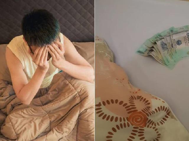 """Vào nhà nghỉ cùng bà chị đáng mến, tỉnh dậy thấy 3 triệu trên gối, nam thanh niên """"khóc thét"""""""