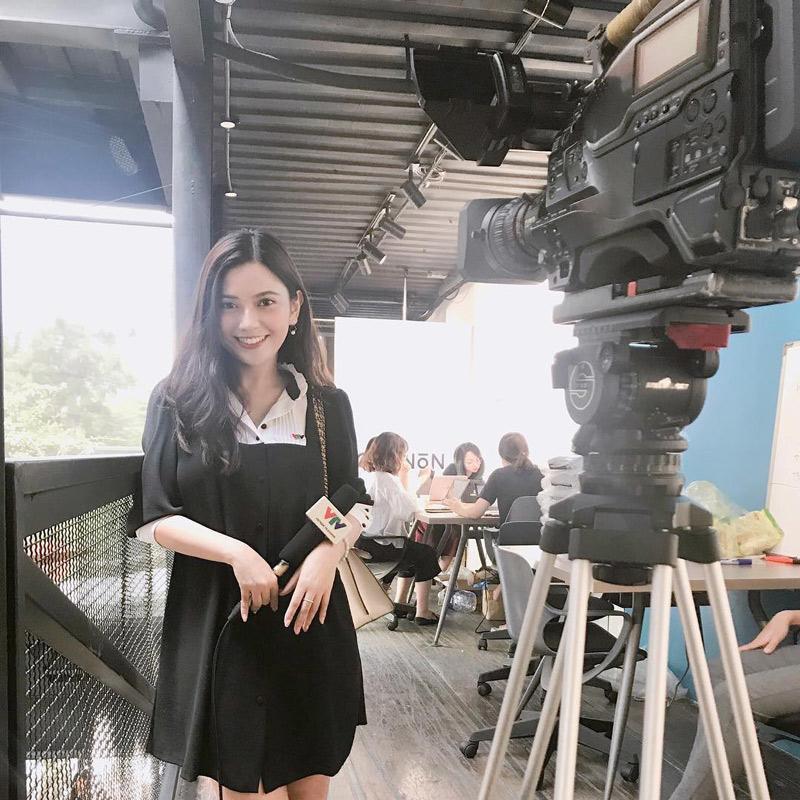 Nguyễn Thu Phương (sinh năm 1995), hiện tại đang là BTV tiếng Anh của VTV4.