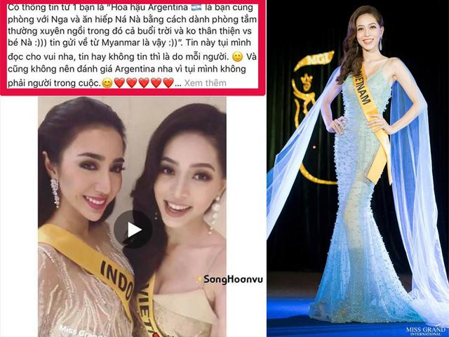 Cộng đồng mạng bức xúc trước tin Á hậu Phương Nga bị chơi xấu tại Miss Grand 2018