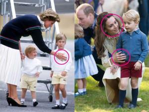 Công nương Kate có nhiều điểm nuôi dạy con giống mẹ chồng Diana được Hoàng gia Anh khen ngợi