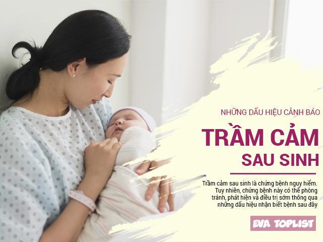 Những dấu hiệu cảnh báo mẹ bỉm sữa đang mắc chứng trầm cảm sau sinh