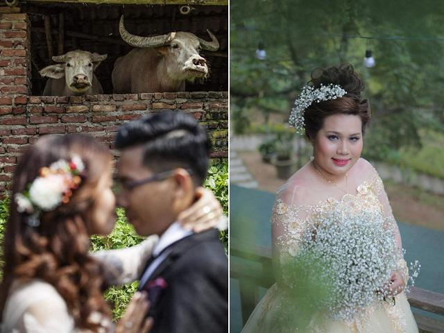 Cười rách miệng với những bộ ảnh cưới được chụp bởi người yêu cũ khiến dân mạng đảo điên