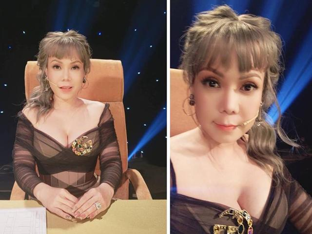 Việt Hương gây sốc khán giả với hình ảnh quá trẻ và gợi cảm căng tràn khi ngồi ghế nóng