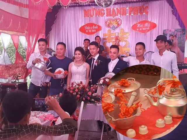 Quà cưới bất ngờ của hội bạn thân thích đùa: Tặng nguyên bộ… xoong nồi như thập niên 80