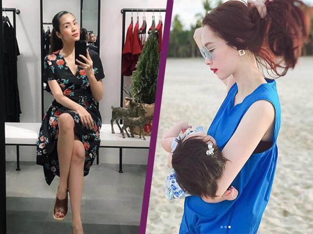 Nhờ đâu mà vẻ ngoài sao Việt như Hà Tăng còn mặn mà hơn sau các kì sinh nở