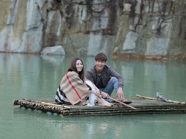 Mãn nhãn với cảnh lãng mạn siêu đẹp ở Tuyệt Tình Cốc của Ngân Khánh và Song Luân
