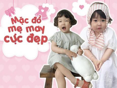 Bà mẹ Hàn may đồ cho con từ vải vụn, nhanh và tiết kiệm vẫn khiến lũ trẻ thích mê