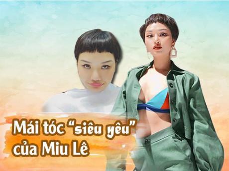 Không phải ai cũng đủ can đảm diện tóc Maruko phiên bản siêu ngố như Miu Lê