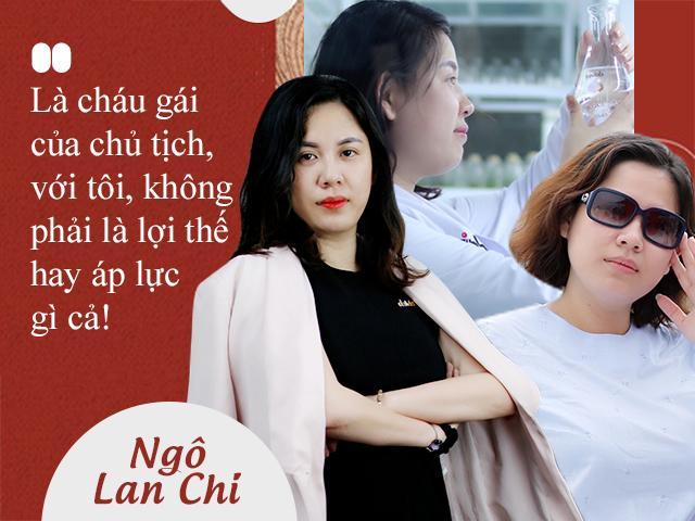 Là cháu gái của chủ tịch, với tôi, không phải là lợi thế hay áp lực gì cả!