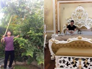 Soi nhà Quang Lê tại Mỹ: Nhìn bên ngoài tưởng miệt vườn vào trong mới biết là cung điện
