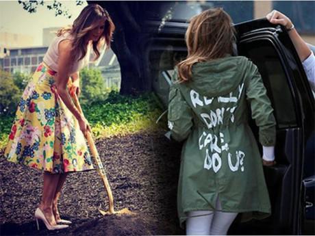 Đệ nhất phu nhân Mỹ Melania Trump và những lỗi sai thời trang không thể cứu vãn!