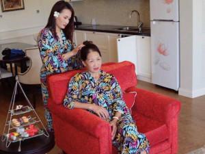 """Bảo Thanh chia sẻ hình ảnh """"sống chung với mẹ chồng"""" ngoài đời thực"""