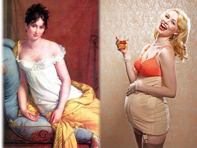 Kinh hoàng váy áo phụ nữ xưa: Vẫn nịt bụng khi mang thai, sẵn sàng chết rét để gợi cảm