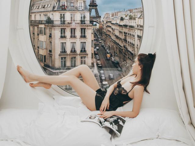Bị đàm tiếu: chụp cả trăm bức mà xe cộ Paris vẫn đứng yên, Ngọc Trinh tung clip hậu trường