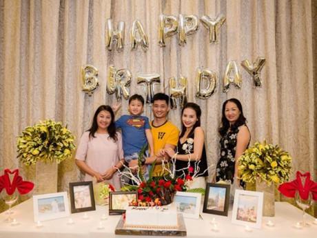 Bảo Thanh bất ngờ được tổ chức sinh nhật sớm bên mẹ chồng, mẹ đẻ