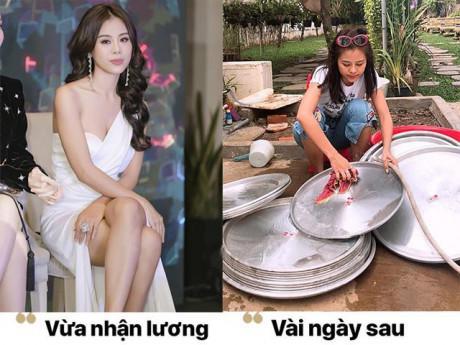 """Sẽ thế nào nếu các mỹ nhân Việt cũng có thời trang """"vừa lãnh lương"""" như chúng ta?"""