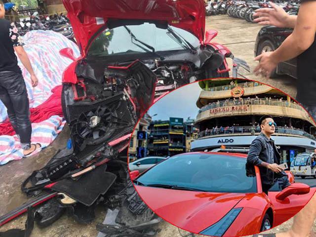 Siêu xe tiền tỷ của ca sĩ Tuấn Hưng bất ngờ gặp tai nạn nát hết phần đầu?