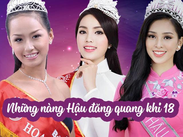 3 nàng Hậu đăng quang khi 18, Mai Phương Thúy, Kỳ Duyên lột xác hoàn toàn, còn Tiểu Vy?