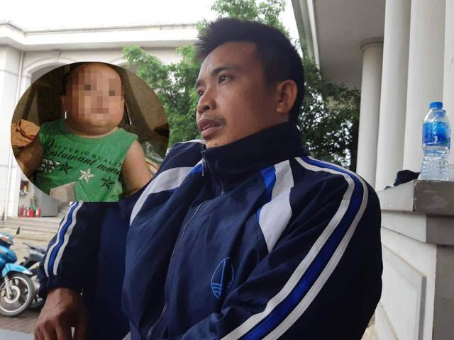 Bố bé trai 22 tháng tử vong khi truyền dịch: Khi đi khám, con còn vẫy tay chào mọi người