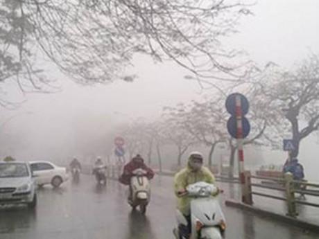 Thời tiết 17/10: Khí lạnh kèm mưa nhỏ bao trùm khắp Hà Nội, đêm hạ xuống 20 độ C